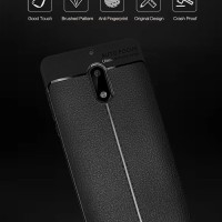 Nokia 6 Dual Ring I Zore Shockproof TPU Back Soft Case Cover Casing