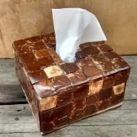 wadah tissue batok kelapa