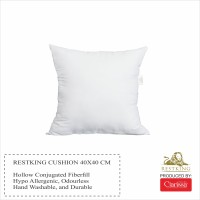 Bantal Kursi Restking 40x40 cm (Cushion/Insert isi Silikon)