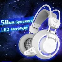 Plextone PC835 Headset LED dengan Mic for Smule Gaming Vlog Bi Murah