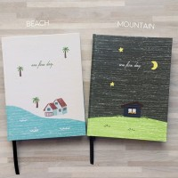 Buku Catatan Perencanaan Peekmybook One Fine Day All Year Planner