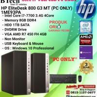 HP EliteDesk 800 G3 MT - 1ME93PA Core i7-7700/8GB/1TB/W10/3YR PC ONLY