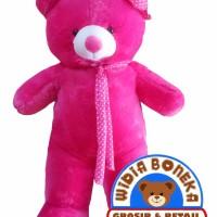 Boneka Teddy Bear Syal Jumbo