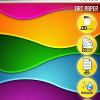 New Fast Print Kertas Printer Art Paper Ukuran A3 210 Gram