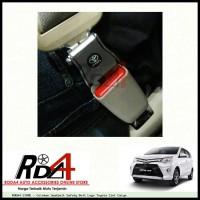 Harga colokan seatbelt safety belt logo toyota 2in1 | antitipu.com