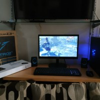 Pc Rakitan AMD A8 dan Monitor LED LG 20INCH lengkap