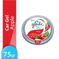 Glade Car Gel Apple 75gr - Pengharum Mobil