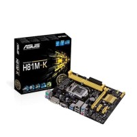 Asus H81M-K Motherboard/Mobo LGA 1150 DDR3 Intel Gen 4 Haswell DDR 3