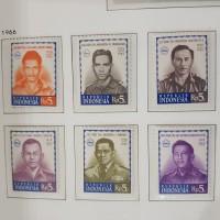 Perangko/Prangko Indonesia 1966. Seri Pahlawan Revolusi