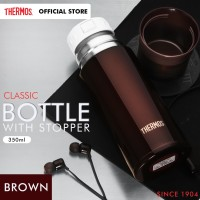 Thermos Bottle with Stopper - Brown 350ml (FFM-350-BW)