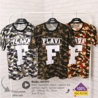 Kaos Distro FLAVA Loreng Premium   Grosir Kaos Ter-MURAH  