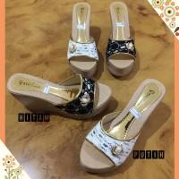 Harga sandal wedges pesta mi02 | Hargalu.com