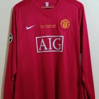 2f7a6302bb8 Jersey Manchester United Final Moscow 2008 Player Issue - ORIGINAL