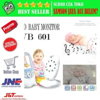 Color Video Baby Monitor VB601 Night vision Kamera pengintai bayi