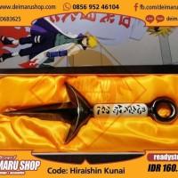 Harga wp hiraishin kunai replika senjata minato yondaime hokage 4 | Pembandingharga.com