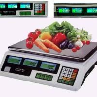 Digital Computing Scale 30 kg Double Display /Timbangan Buah 30kg
