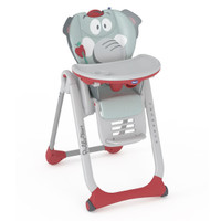 Chicco Polly 2 Start Highchair 2 Wheels Baby Elephant