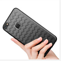 WOVEN case Vivo Y83 Fingerprint softcase casing hp back cover leather