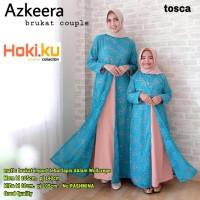 baju wanita azkeera brukat couple dress muslim cantik anggun