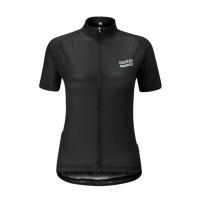 Jersey Sepeda Wanita Chapeau Soulor Logo - Black