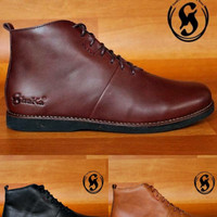 SHAKA ORION - Sepatu Boots Original Kulit Asli Gaya Outdoor Kerja