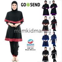 Baju Renang Dewasa Muslimah Premium Edora EMP 002 M, L dan XL