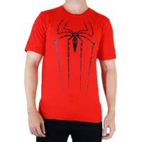 Vanwin - Kaos Distro Premium Pria Superhero Spiderman L Berkualitas