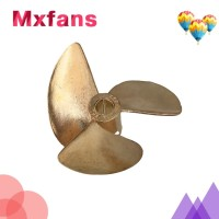 Rc Boat Propeller 37mm 3blade like 38mm hole 4mm and 4,76mm