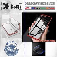 Case Cafele KoRi Plating Oppo Realme 2 Pro List Chrome Premium Soft