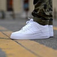 Sepatu Sneakers Nike Air Force One Triple White PREMIUM b6996696fe