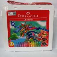 Krayon Hexagonal Oil Pastels Faber Castell 60