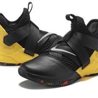 f78c0ac36629 Sepatu Basket - Nike Lebron Soldier XII SFG Black Yellow - PRM