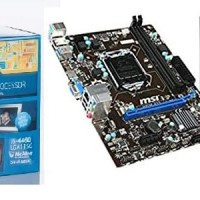 Processor INTEL Core i5 4460 Haswell + Motherboard MSI H81M-E33