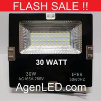 LED SOROT 30W Flood Light Lampu penerangan tembak 30 w watt outdoor