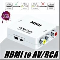 HDMI TO AV / RCA CONVERTER ADAPTER / MINI BOX / MINIBOX HDMI2AV 1080P