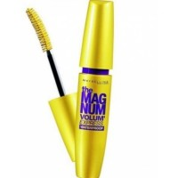 Maybelline The Magnum Volum Express Waterproof Mascara - Hitam