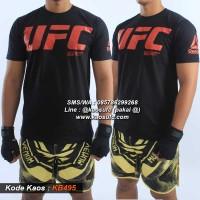 Kaos UFC / Kaos MMA Murah Premium Best Seller KB488