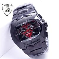 Jam Tangan Pria Lamborghini Black