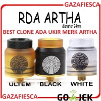 RDA ARTHA / ARTA 24MM BUKAN TSUNAMI DRUGA AVOCADO AZEROTH ELITE TESLA