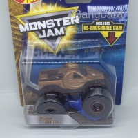 Hot Wheels Monster Jam Zombie Hunter Includes Re-Crushable Car