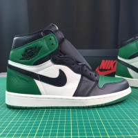 AJ 1 HIGH COURT PINE GREEN (UNAUTHORIZED AUTHENTIC)