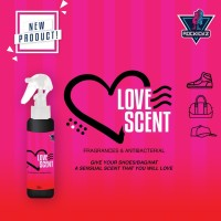 Rockickz Anti Bacterial Love Scent -pengharum pewangi sepatu/tas/topi