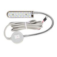 Lampu Mesin Jahit LED Putih Terang 20 Titik Model Belalai Magnet