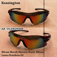 Kacamata Sepeda Kensington Kacamata Kensington Frame Sepeda MTB Hitam