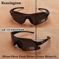 Kacamata Kensington Kacamata Gowes Kacamata Sepeda MTB Sunglass Hitam