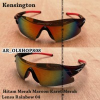 Kacamata Sepeda MTB Frame Kacamata Kensington Sunglass Polarized Fire