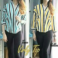 Blouse Virly Top Tosca Yellow