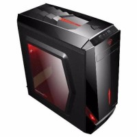 Armaggeddon Decatron T3Z Gaming PC Case (Black)