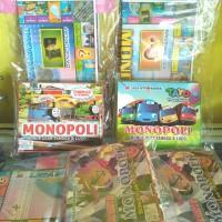 Mainan Monopoly 3in1 Board Game Tematik