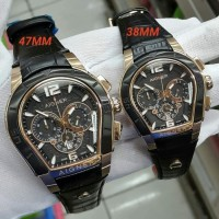 Jam Tangan Aigner palermo couple Black Rose,gold